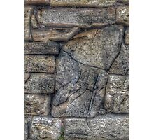 """rock wall"" iPhoneography Photographic Print"