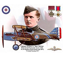 Captain Billy Bishop Photographic Print
