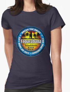 Get New Spirit Copacabana Spain Womens Fitted T-Shirt