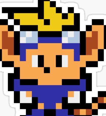 Pixel Sparkster Sticker