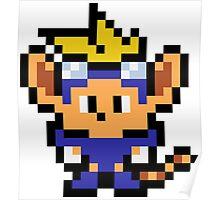 Pixel Sparkster Poster