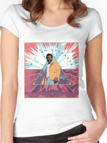 William Onyeabor Album Cover Women's Fitted Scoop T-Shirt
