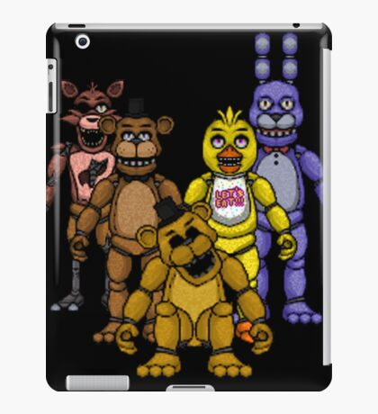 the gang all here iPad Case/Skin