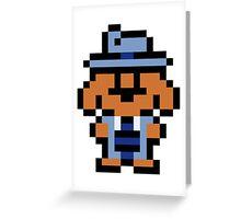 Pixel Sam Greeting Card