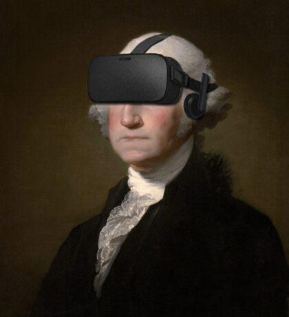 George Washington - Oculus Rift Sticker