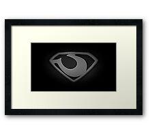 General Zod Framed Print