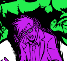 Doctor/Monster Sticker