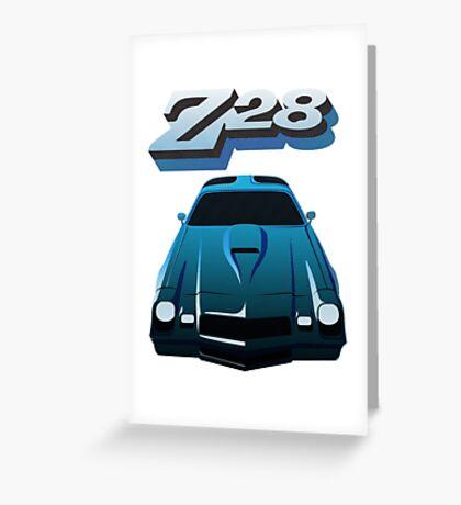 1979 Camaro Z28 illustration Greeting Card