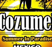 Love Paradise Cozumel Sticker