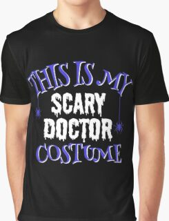 Scary Doctor Costume Graphic T-Shirt
