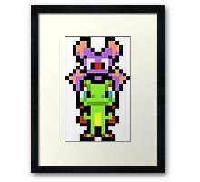 Pixel Yooka-Laylee Framed Print
