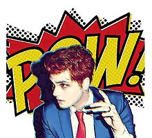 Gerard Way - POW!! by Zorro66