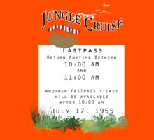 Jungle Cruise Fastpass Kids Clothes