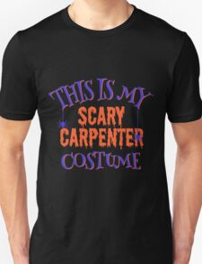 Scary Carpenter Costume Unisex T-Shirt