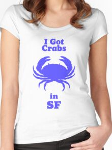 I Got Crabs in SF Women's Fitted Scoop T-Shirt