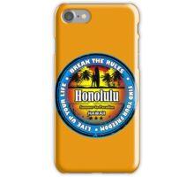 Honolulu, Hawaii Wonderful Life iPhone Case/Skin