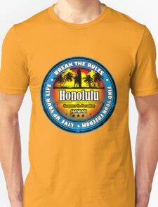 Honolulu, Hawaii Wonderful Life Unisex T-Shirt