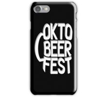 Oktobeerfest iPhone Case/Skin