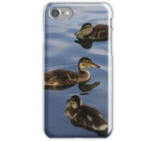 Three ducks in a row iPhone Case/Skin