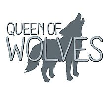 Queen of wolves Photographic Print