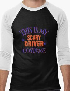 Scary Driver Costume Men's Baseball ¾ T-Shirt