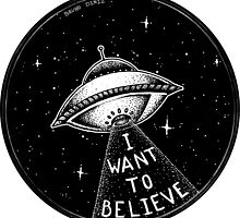 I want to believe by Bruno Diniz