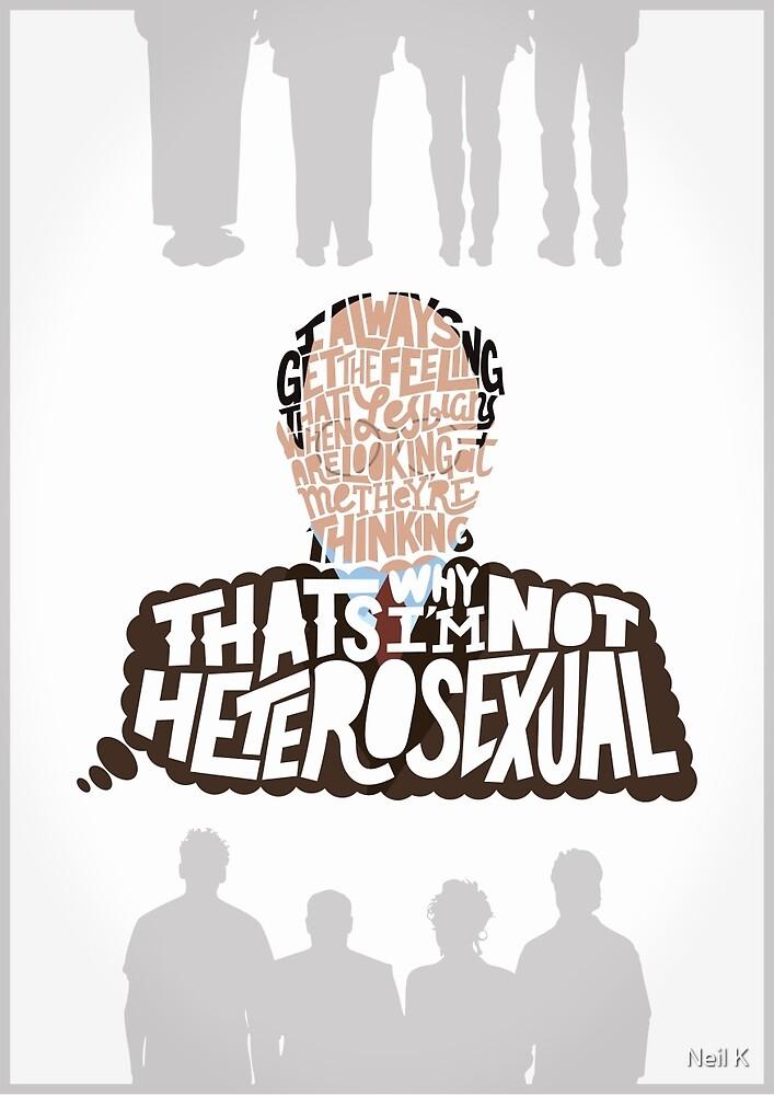 George Costanza on Lesbians by Neil K