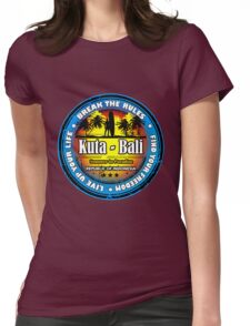 God's Island Party Beaches Kuta Womens Fitted T-Shirt