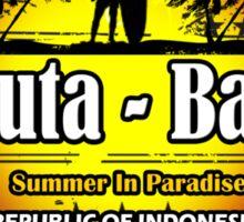 God's Island Party Beaches Kuta Sticker