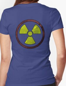 Radioactive Symbol version 2 Womens Fitted T-Shirt