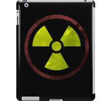 Radioactive Symbol version 2 iPad Case/Skin