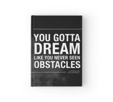 Dream Obstacle Hardcover Journal