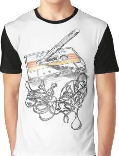 Retro Tape Deck. Graphic T-Shirt