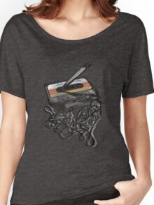 Retro Tape Deck. Women's Relaxed Fit T-Shirt