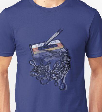 Retro Tape Deck. Unisex T-Shirt