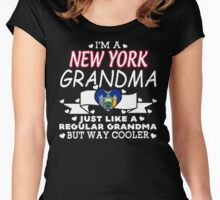 I'm a New york Grandma Women's Fitted Scoop T-Shirt