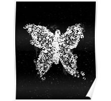 Dr.Lamb's Handprint Butterfly Poster