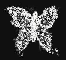 Dr.Lamb's Handprint Butterfly by Greytel