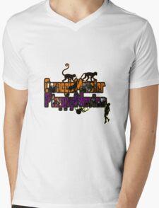 NoviceMonster Mens V-Neck T-Shirt