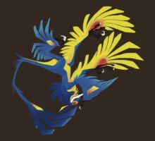 Upside Down Microraptor by Fable