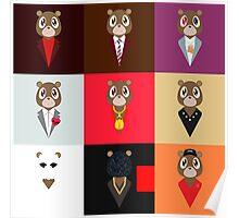 Bear Kanye Poster