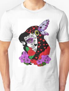 The Black Widow skulled Unisex T-Shirt