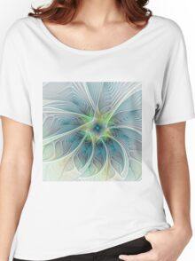 Flourish Fantasy abstract and modern Fractal Art Women's Relaxed Fit T-Shirt