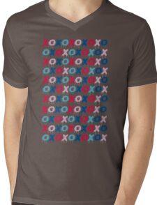 x o pattern  Mens V-Neck T-Shirt
