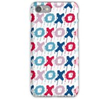 x o pattern  iPhone Case/Skin
