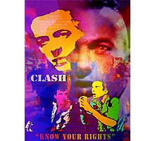 CLASH KNOW YOUR RIGHTS Photographic Print