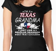 I'm a Texas Grandma Women's Fitted Scoop T-Shirt
