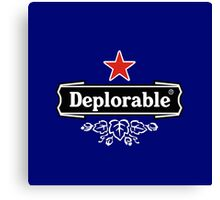 star deplorable Canvas Print