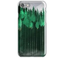Misty Pines iPhone Case/Skin