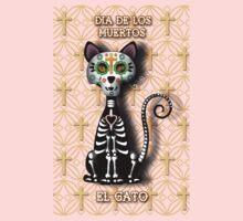 Dia de los Muertos - El Gato One Piece - Short Sleeve